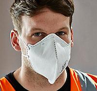 2 masques jetables pliables FFP1