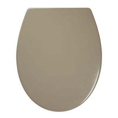 Abattant WC avec frein de chute taupe COOKE & LEWIS Diani