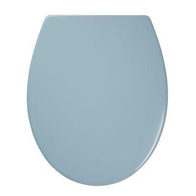 Abattant WC avec frein de chute bleu COOKE & LEWIS Diani