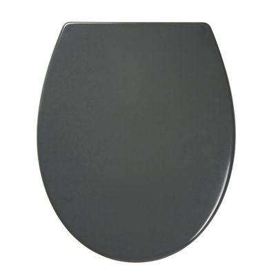 Abattant WC avec frein de chute gris COOKE & LEWIS Diani