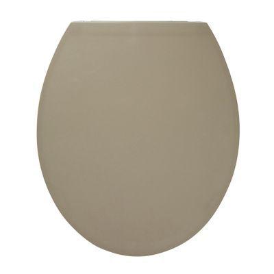 Abattant WC avec frein de chute taupe COOKE & LEWIS Changi