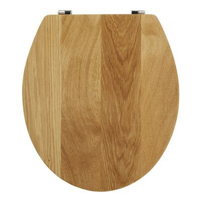 Abattant WC chêne naturel COOKE & LEWIS Cervia