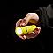 Petite torche LED caoutchoutée jaune DIALL 29 lumens