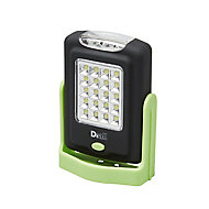 Torche LED 2 fonctions verte Diall 220 lumens