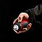 Petite dynamo rouge DIALL 11 lumens