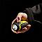 Petite dynamo jaune DIALL 11 lumens