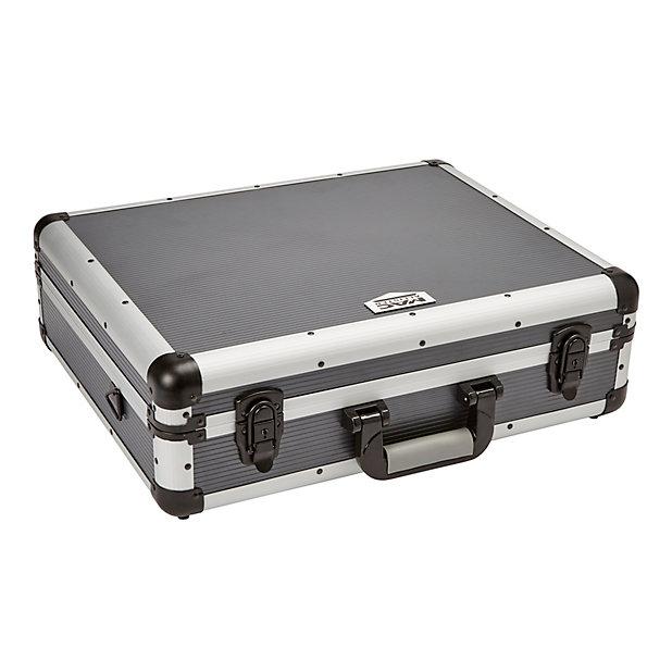 Mallette En Aluminium Mac Allister Avec Mousse 50 Cm Castorama