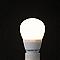 Ampoule LED sphérique E14 3,2W=25W blanc chaud