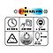 Ampoule LED sphérique E27 6W=40W blanc chaud