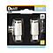 2 capsules LED G9 3,1W=28W blanc froid