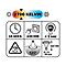 Ampoule LED réflecteur - R80 E27 5W=35W blanc chaud