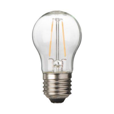 ampoule filament led sph rique e27 2 1w 25w blanc chaud castorama. Black Bedroom Furniture Sets. Home Design Ideas