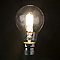 3 ampoules halogène B22 120W=156W blanc chaud