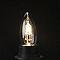3 ampoules halogène flamme E27 46W=60W blanc chaud