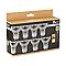 8 ampoules halogène réflecteur GU10 spot 28W=35W blanc chaud