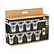 8 ampoules halogène réflecteur GU10 spot 40W=50W blanc chaud