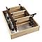 Escalier escamotable MAC ALLISTER en bois avec trappe de 60cm, ép.26 mm