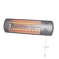 Réglette murale infrarouge 2 tubes 1200W