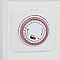 Radiateur bain d'huile à minuterie 1500W