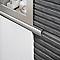 Listel aluminium mat 10 mm