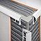 Profile 1/4 rond PVC exterieur 6 mm Blanc