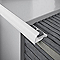 Profilé 1/4 rond angle externe PVC blanc 9 mm