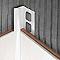 Profile 1/4 rond PVC int 9 mm Blanc