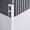 Profile angle droit  PVC 8 mm Blanc