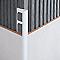 Profile angle droit  PVC 10 mm bl