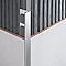Profile angle droit Alu ano Mat 12,5 mm
