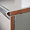 Profilé nez de marche semi-rond aluminium mat 10 mm