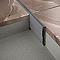 Profilé de dilatation PVC gris 35 mm