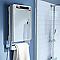 Radiateur sèche-serviettes électrique soufflant Blyss Small-E Miroir 1800W