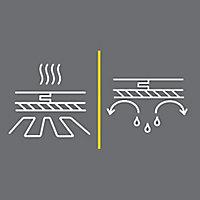 Membrane pare-vapeur parquet et stratifié Ep.0,15 mm 20m² (vendu au carton)