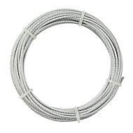 Câble en acier Diall ø4 mm, 10 m