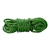 Corde torsadée en polypropylène verte Diall ø10 mm, 50 m