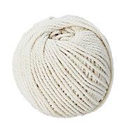 Cordeau de maçon en fil de coton blanc DIALL ø1.5 mm, 60 m