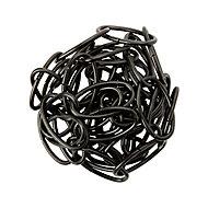 Chaîne de lustre noire Diall ø2.2 mm x l. 150 cm