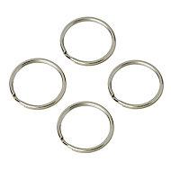Lot de 4 anneaux brisés ø22 mm