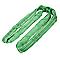 Elingue ronde sans fin DIALL polyester brut noir et vert 200 m 2 tonnes