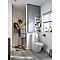 Armoire de salle de bains gris COOKE & LEWIS Imandra 40 cm