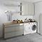 Meuble sous vasque à poser taupe brillant COOKE & LEWIS Imandra 60 cm