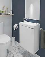 Plan vasque lave-mains GoodHome Beni