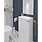Meuble lave mains à poser GoodHome Imandra blanc L.44 x H.79 cm