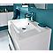 Plan vasque blanc GoodHome Mila 60 cm