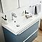 Plan vasque blanc Cooke & Lewis Mila 80 cm