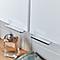 Armoire de salle de bains GoodHome Imandra blanc L.40 x H.90 x P.15 cm
