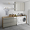 Armoire de salle de bains taupe COOKE & LEWIS Imandra 60 cm