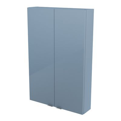 armoire de salle de bains bleu cooke lewis imandra 60 cm castorama. Black Bedroom Furniture Sets. Home Design Ideas