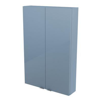 armoire de salle de bains bleu cooke lewis imandra 60 cm. Black Bedroom Furniture Sets. Home Design Ideas